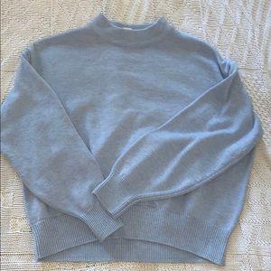 H&M Light Blue Turtleneck Sweater